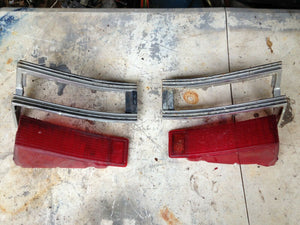 1969 Chevelle-Tail lights lens & bezels