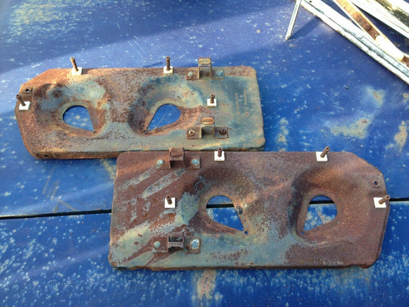 1970 Chevy Impala, Caprice -Headlight mount panels, bucket