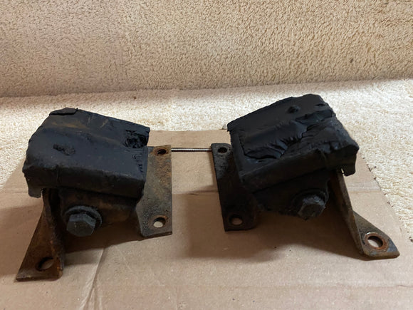 1963 Chevrolet (Chevy) Impala Original V-8 motor stands with original bolts