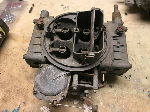 Holley 600 cfm 4bbl carburetor