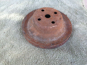 Camaro, Chevelle-Small Block Chevy water pump pulley 327 350