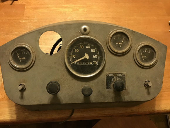 Dash assembly cluster speedometer-Vintage