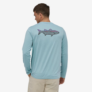Capilene Cool Daily LS-Fish Graphic