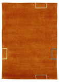 stair landing rug orange Amber Links Alto Steps