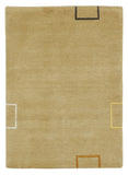 stair landing rug beige Amber Links Alto Steps