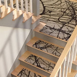 Stair Tread Rugs natural un-dyed wool Barberry Alto Steps