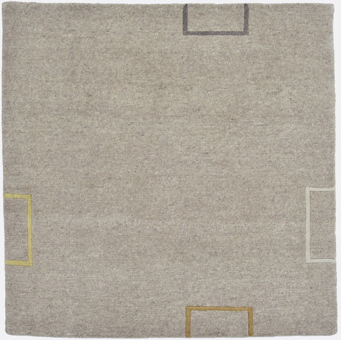 Natural Meditation Rug 32x32 inches