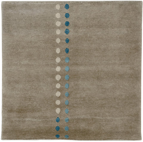 Northern Lights Landing Rug 32x32 inches