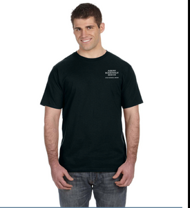 Asbury Boardwalk Rescue Men's Black Tee Shirt