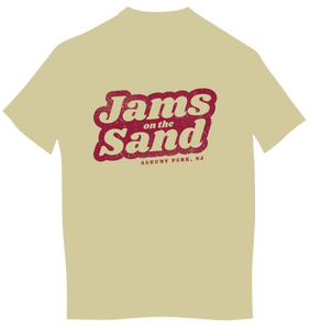 Jams on The Sand Men's Tan T