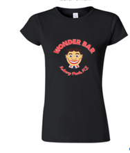 Load image into Gallery viewer, Women's Black Cap Sleeve Tee