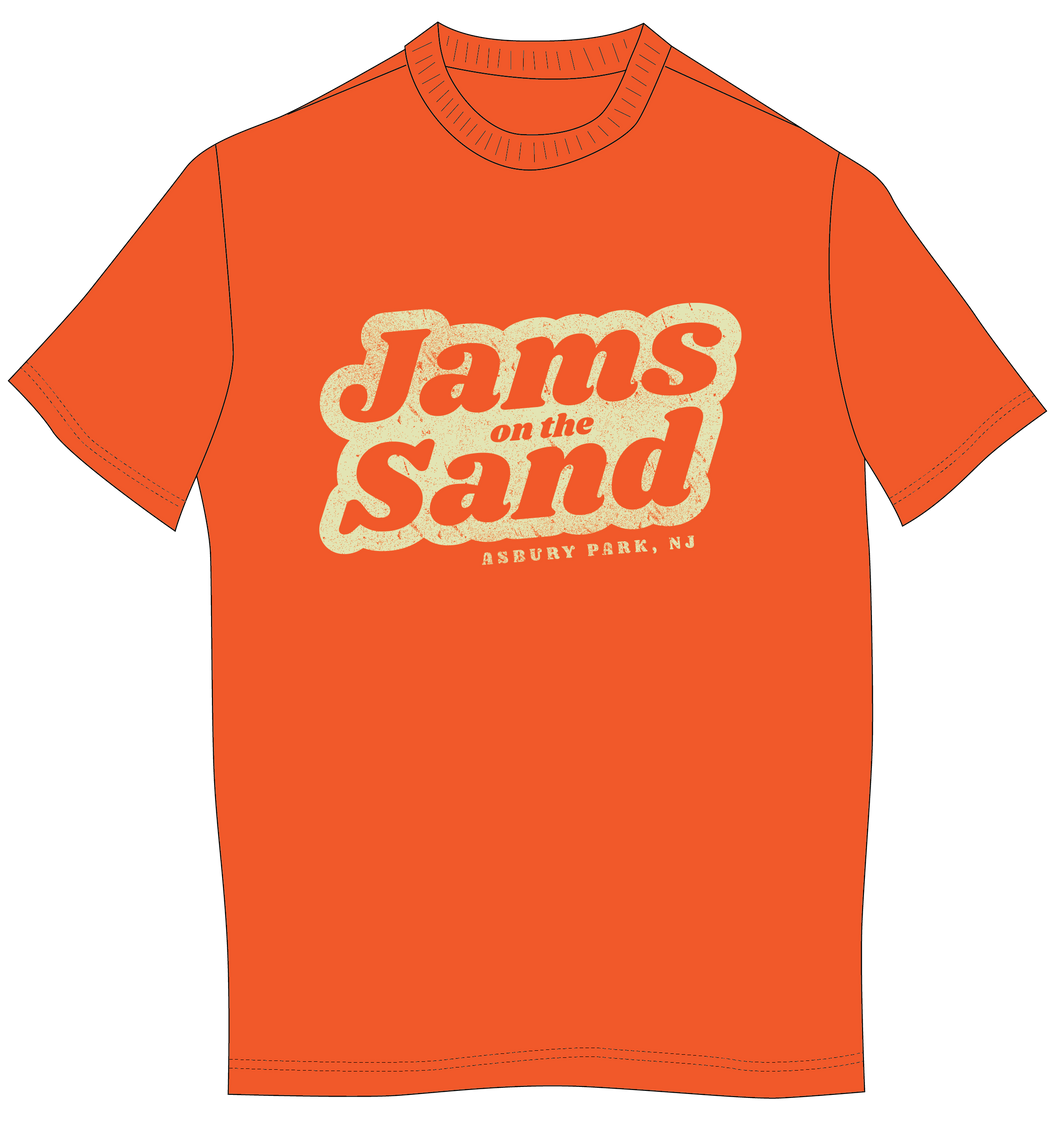 Jams on The Sand Women's Orange T