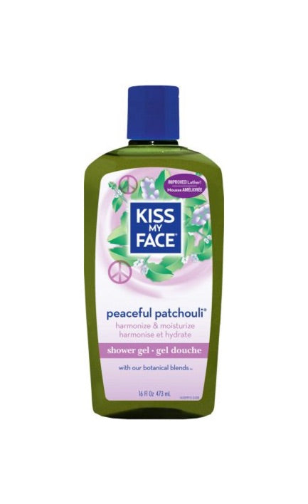 Peaceful Patchouli Shower Gel - Kiss My Face