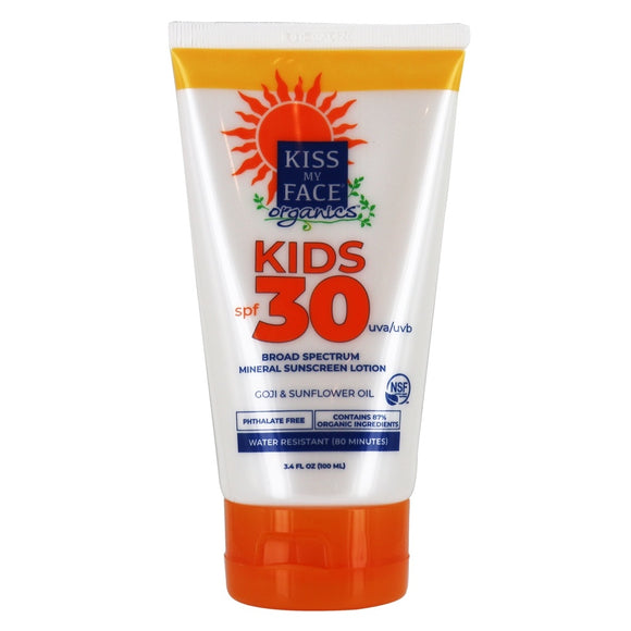 ORGANICS™ Kids Mineral Sunscreen 30 SPF - Kiss My Face