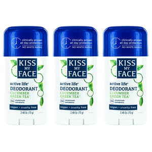 Active Life Stick Cucumber Green Tea Deodorant - Kiss My Face