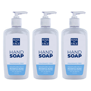 Fragrance Free Moisture Hand Soap