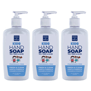 Kids Fragrance Free Hand Soap