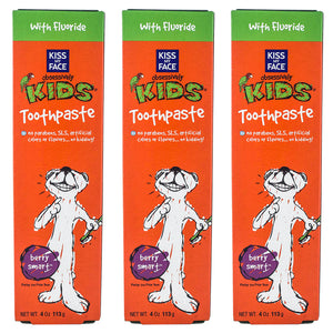 Kids Berry Toothpaste Smart Gel With Fluoride