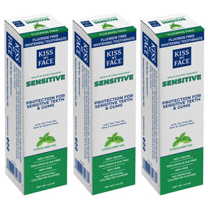 Sensitive Citrus Mint Gel Fluoride Free Toothpaste