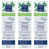 Triple Action Fresh Mint Paste Fluoride Free Toothpaste