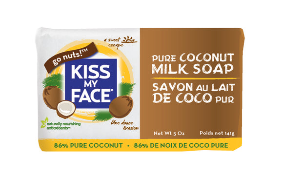 Pure Coconut Milk Bar Soap - Kiss My Face