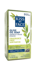 Naked Pure Olive Oil Bar Soap 9 Pack - Kiss My Face