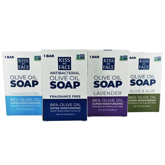 Bar Soap Variety Pack (8 Pack)