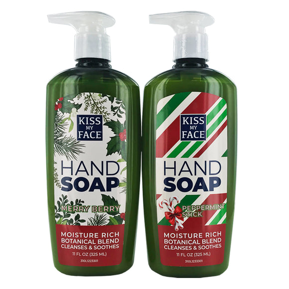 Holiday Hand Soap Bundle (4 Pack)