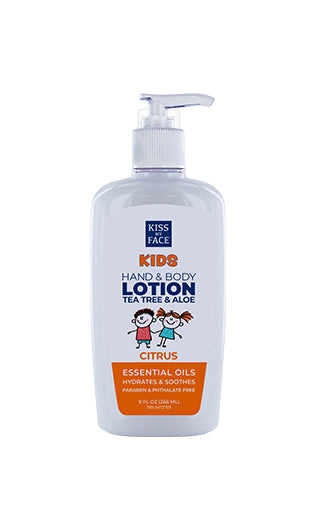 Kids Citrus Hand & Body Lotion