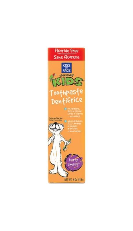 Kids Berry Smart Gel Fluoride Free - Kiss My Face