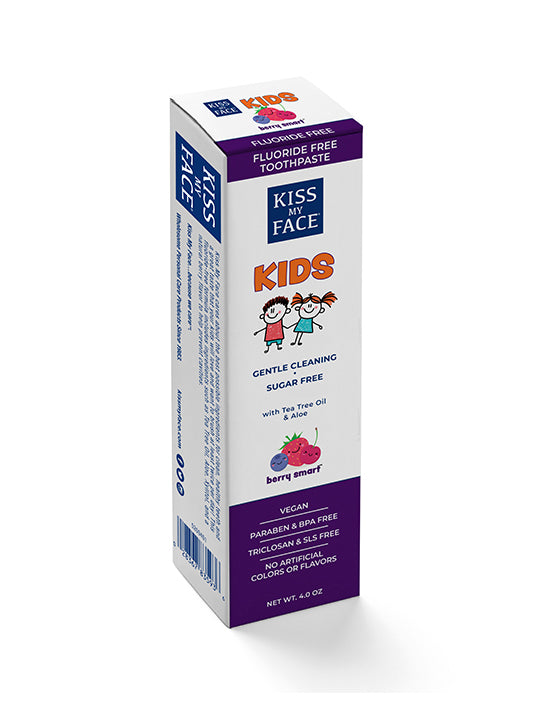 Kids Berry Smart Gel Fluoride Free Toothpaste