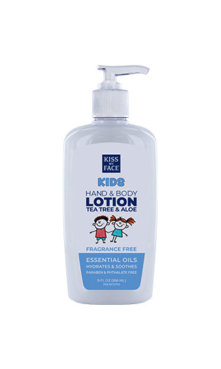 Kids Fragrance Free Hand & Body Lotion