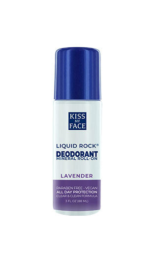 Liquid Rock Roll On Lavender Deodorant