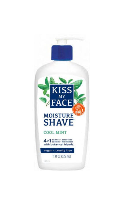 Cool Mint Moisture Shave - Kiss My Face