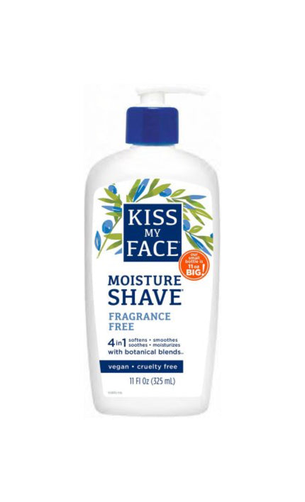 Fragrance Free Moisture Shave - Kiss My Face