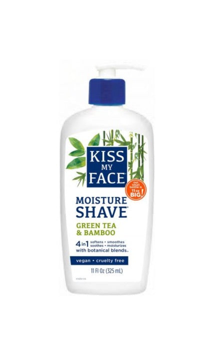 Green Tea & Bamboo Moisture Shave - Kiss My Face
