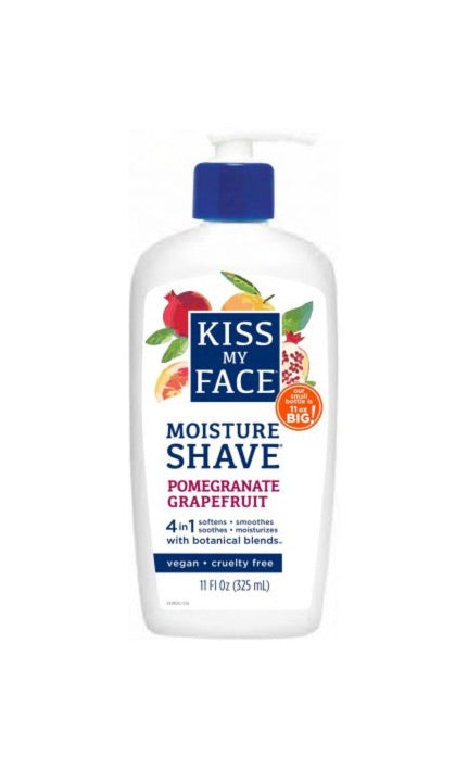 Pomegranate Grapefruit Moisture Shave - Kiss My Face