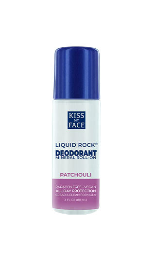 Liquid Rock Roll On Patchouli Deodorant