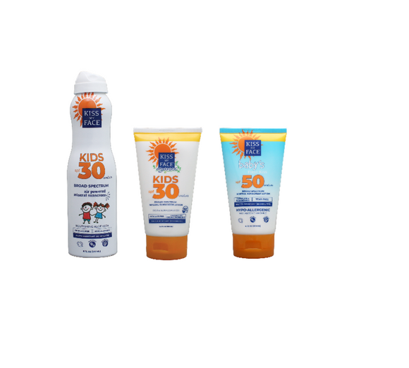 Kids & Baby's Sun Care Bundle