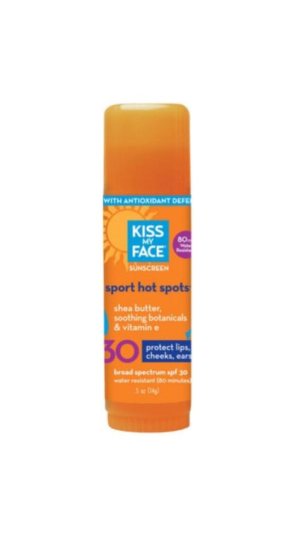 Sport Hot Spots Bulk 30 SPF Sunscreen - Kiss My Face
