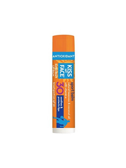 Sport Lip Balm 30 SPF Sunscreen - Kiss My Face