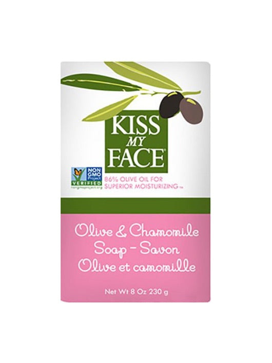 Olive & Chamomile Bar Soap - Kiss My Face