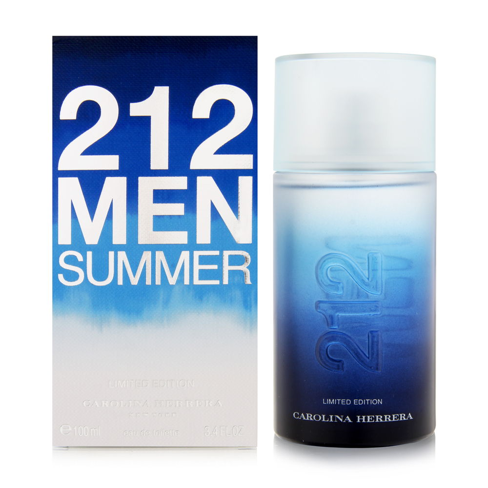 212 Men Summer Limited Edition by Carolina Herrera for Men