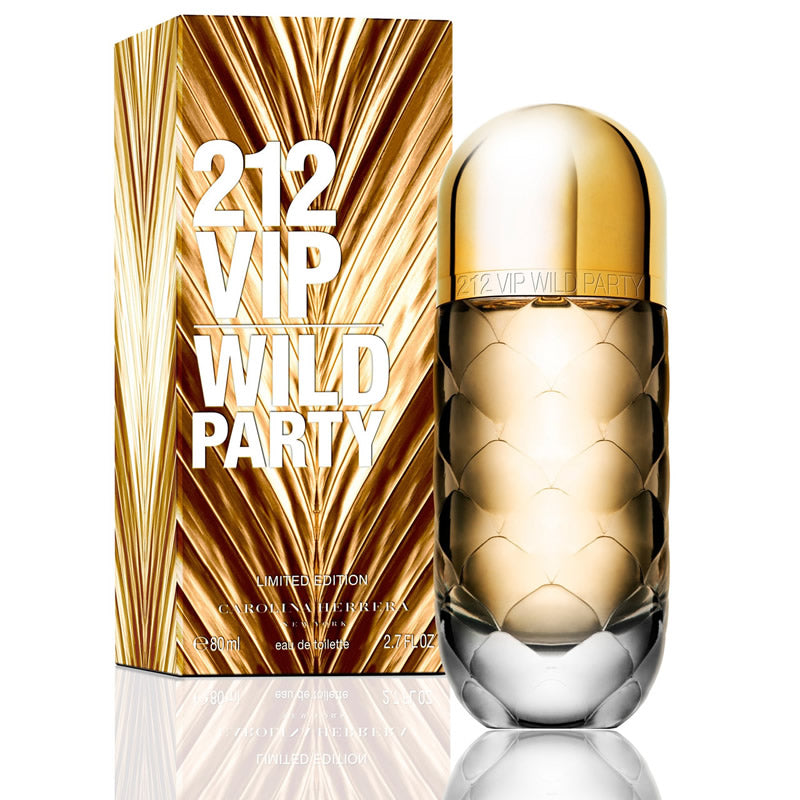 212 VIP Wild Party EDT Limited Edition by Carolina Herrera for Women