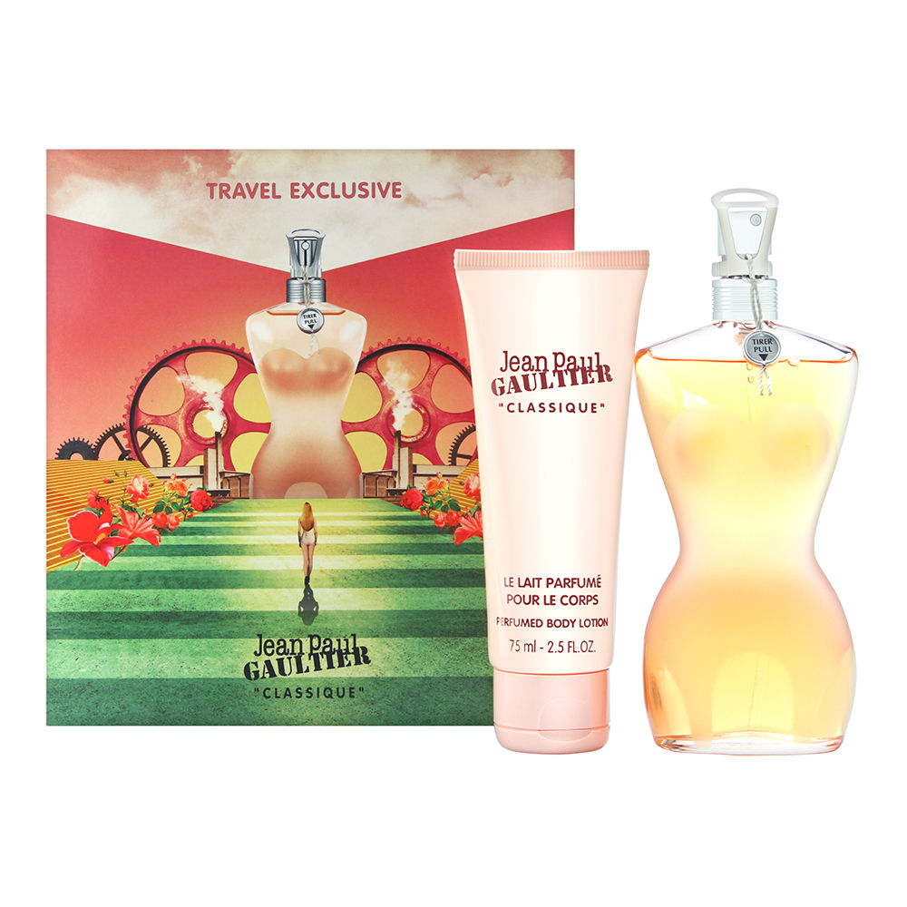 Jean Paul Gaultier Classique 2 Piece Gift Set by Jean Paul Gaultier for Women 2 Piece Set