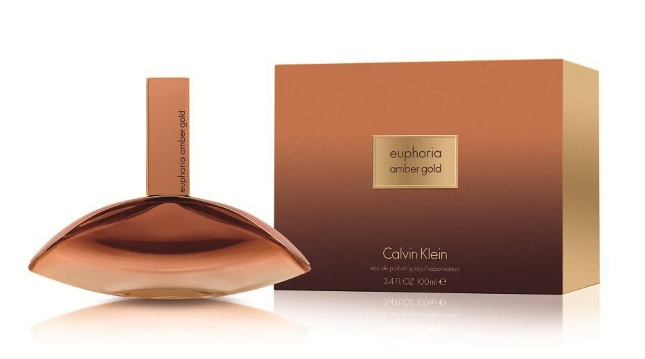 Euphoria Amber Gold by Calvin Klein for Women