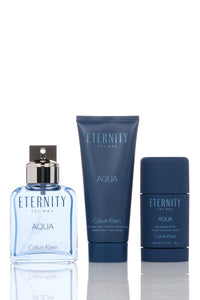 Eternity Aqua 3 Piece Gift Set by Calvin Klein for Women