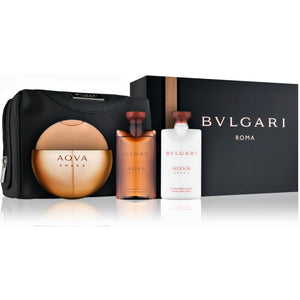 Bvlgari Aqua Amara 4 Piece Gift Set by Bvlgari for Men