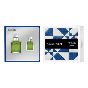 Eternity Perfume 2 Piece Gift Set by Calvin Klein for Men