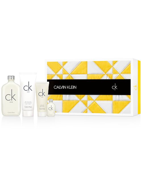 CK One 4 Piece Gift Set by Calvin Klein for Men and Women
